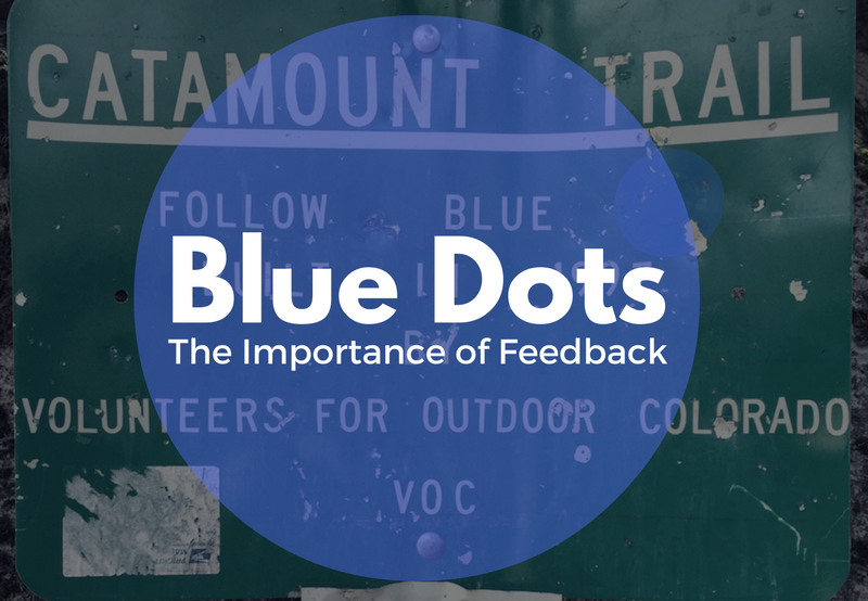 Blue Dots - The Importance of Feedback