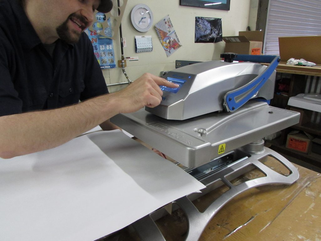 You never want the reason why you can't get a job done to be 'our heat-press operator isn't here today'. Especially with tasks that don't take an age to get basic proficiency, cross-training is a quick and easy win