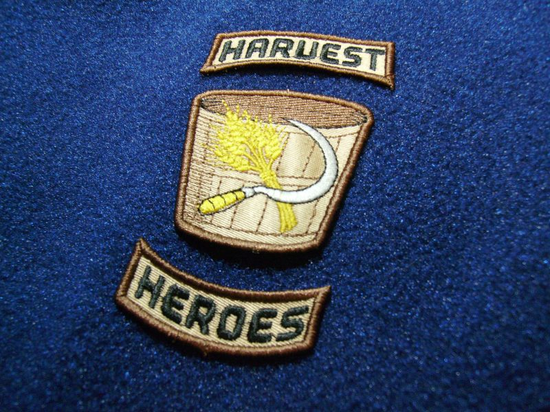 Finished Harvest Heroes Patches